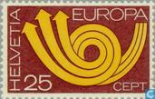 Timbres-poste - Suisse [CHE] - Europe – Cor postal