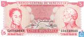 Venezuela 5 Bolivares