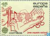 Postage Stamps - Spain [ESP] - Europe – Music Year