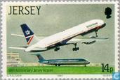 Timbres-poste - Jersey - Aéroport