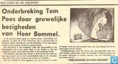 Bandes dessinées - Tom Pouce - Onderbreking Tom Poes door gruwelijke bezigheden van Heer Bommel