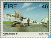 Postage Stamps - Ireland - Aer Lingus 50 years