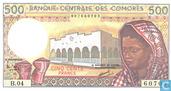 Comoren 500 Francs