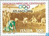 Postage Stamps - Italy [ITA] - Olympic Game s- Atlanta