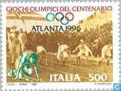 Postzegels - Italië [ITA] - Olympische Spelen - Atlanta