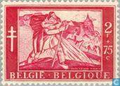 Postage Stamps - Belgium [BEL] - Painting Anto Carte