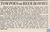 Comic Books - Bumble and Tom Puss - TOM POES en HEER BOMMEL