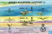 Postage Stamps - Jersey - 75 years RAF