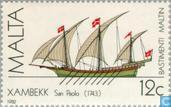 Briefmarken - Malta - Malterser Schiffe