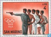 Postage Stamps - San Marino - Olympic Games