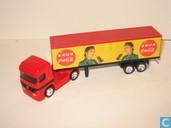 Modelauto's  - Matchbox Mattel - Mercedes-Benz Actros 'Coca-Cola'