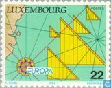 Postzegels - Luxemburg - Europa – Grote ontdekkingen
