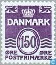 Postage Stamps - Denmark - Golf Lines