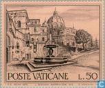 Postzegels - Vaticaanstad - Europees Monumentenjaar