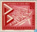 Briefmarken - Berlin - Interbau Berlin
