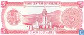 Banknoten  - Banco Central de Venezuela - Venezuela 5 Bolivares