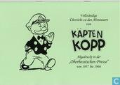 """Vollständige Übersicht zu den Abenteuern von Käpten Kopp, Abgedruckt in der """"Oberhessischen Presse"""" 1957-1966"""
