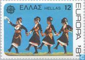 Postage Stamps - Greece - Europe – Folklore