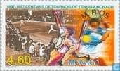 Postage Stamps - Monaco - Marcelo Rios tournament winner