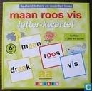 Board games - Happy Families - Maan Roos Vis Letter Kwartet