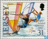 Postzegels - Jersey - Sporten