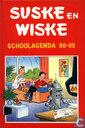 Strips - Suske en Wiske - Schoolagenda 88-89
