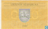 Banknoten  - Lietuvos Respublika - Litauen 0,20 Talonas