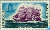 Postage Stamps - France [FRA] - Sailing ship 'Antoinette'