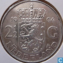 Monnaies - Pays-Bas - Pays Bas 2½ fgulden 1964