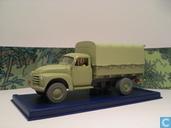 """Model cars - Atlas - De vrachtwagen van Alcazar uit """"Kuifje en de Picaro's"""""""