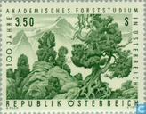 Postage Stamps - Austria [AUT] - Study Forest 100 years