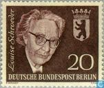 Postage Stamps - Berlin - Schroeder, Louise