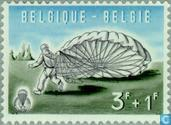 Postage Stamps - Belgium [BEL] - Parachuting