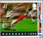 Postzegels - Guernsey - EK Voetbal