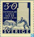 Postzegels - Zweden [SWE] - 30 blauw