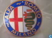 Emaille Reklamebord : Alfa Romeo
