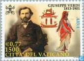 Postage Stamps - Vatican City - Giuseppe Verdi