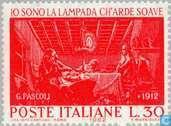 Postage Stamps - Italy [ITA] - Giovanni Pascoli