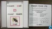 Jeux de société - Jeu de Quartette - Maan Roos Vis Letter Kwartet