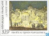 Timbres-poste - France [FRA] - Relations culturelles France-Suède
