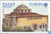 Postage Stamps - Greece - Europe – Monuments