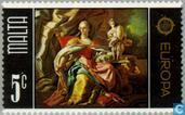 Postage Stamps - Malta - Europe – Paintings