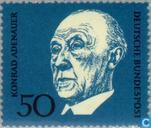 Postage Stamps - Germany, Federal Republic [DEU] - Konrad Adenauer