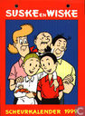 Strips - Suske en Wiske - Scheurkalender 1999