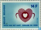 Postzegels - België [BEL] - Hartweek