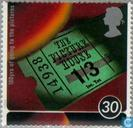 Postage Stamps - Great Britain [GBR] - Cinemas 1896-1996