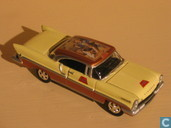 Modelauto's  - Johnny Lightning - Lincoln Premier 'Coca-Cola'