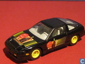 Voitures miniatures - Johnny Lightning - Nissan 240SX 'Coca-Cola'