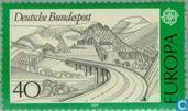 Timbres-poste - Allemagne, République fédérale [DEU] - Europe – Paysages