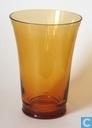 Glas / Kristall - Kristalunie - Dram Vaas amber